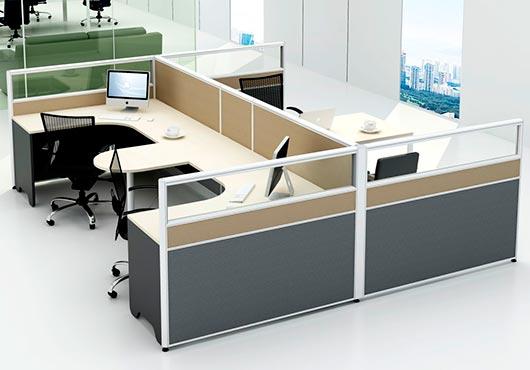 Muebles de oficina en melamina 20170801035602 - Muebles de melamina ...