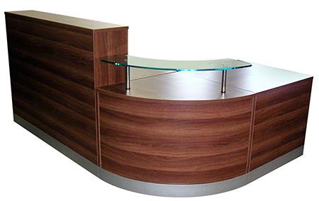 Counter de recepcion counter de melamina caunter recepci n for Muebles de oficina lima precios