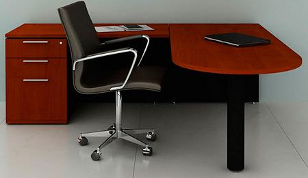 Escritorio gerencial escritorios de gerencia for Escritorio de oficina precio