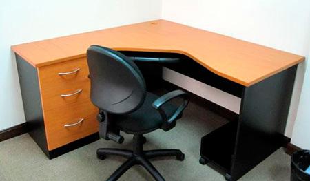 Escritorios para oficina escritorio de melamina - Muebles para pc de escritorio ...