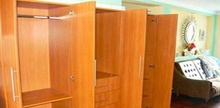 Modelos de closets para dormitorios frente de armario for Modelos de closets para dormitorios modernos